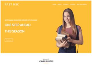 pasthsc.com.au screenshot