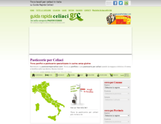 pasticcerieperceliaci.com screenshot