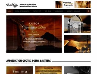 pastor-gifts.com screenshot