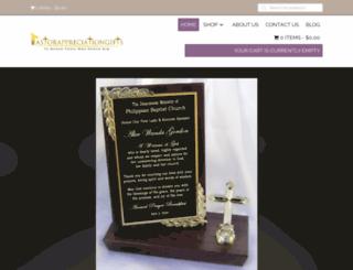 pastorappreciationgifts.com screenshot
