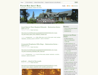 pastorrodakins.wordpress.com screenshot
