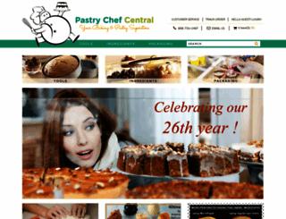 pastrychef.com screenshot