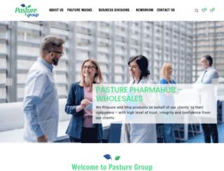 pasturegroup.com screenshot