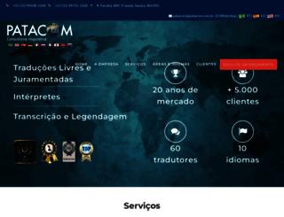 patacom.com.br screenshot