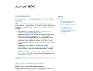 patangpuluh040.blogspot.pt screenshot