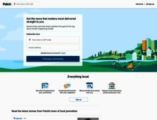 patch.com screenshot