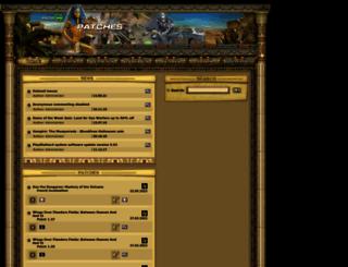 patches-scrolls.de screenshot