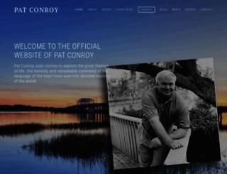 patconroy.com screenshot