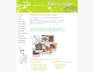 pate-a-crepe.info screenshot