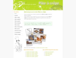 pate-a-crepe.info screenshot