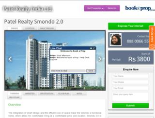 patel-realty.bookaprop.com screenshot