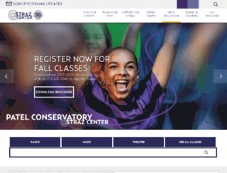 patelconservatory.org screenshot