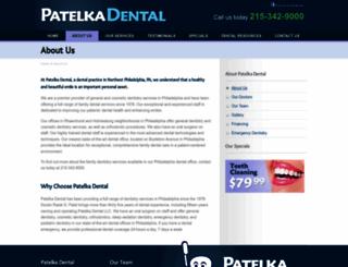 patelkadental.com screenshot