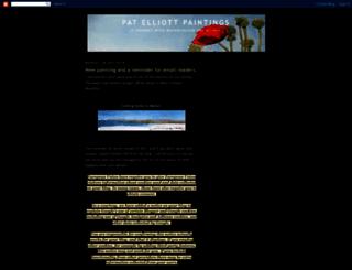 patelliottpaintings.blogspot.com screenshot
