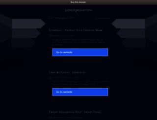 patentgenius.com screenshot