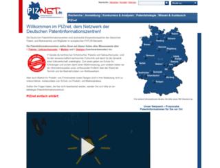 patentinformation.de screenshot