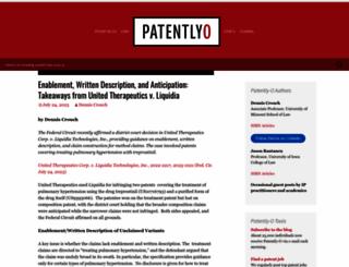 patentlyo.com screenshot