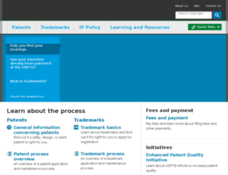 patents.uspto.gov screenshot