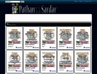 pathanvssardar.blogspot.com screenshot
