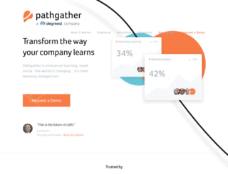 pathgather.com screenshot