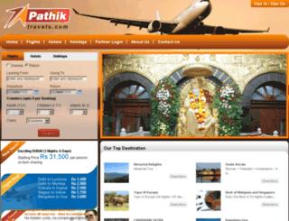 pathiktravels.com screenshot