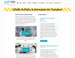 pathlab.co.nz screenshot