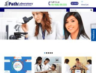 pathlaboratory.com screenshot