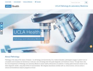 pathology.ucla.edu screenshot