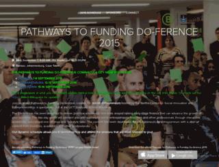 pathwaystofunding.topi.com screenshot