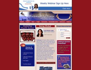 pathwaystopower.com screenshot