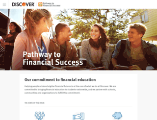 pathwaytofinancialsuccess.org screenshot