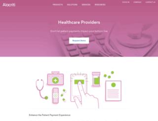 patientcollect.net screenshot