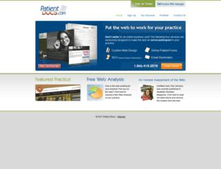 patientdocs.com screenshot