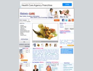 patients-care.com screenshot