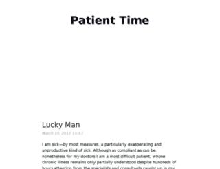 patienttime.typed.com screenshot