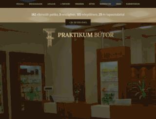 patikabutor.hu screenshot