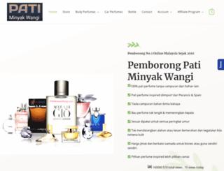 patiminyakwangi.com screenshot
