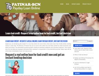 patinar-bcn.org screenshot