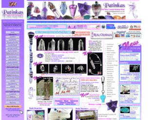 patinkas.co.uk screenshot