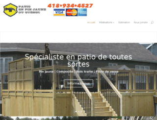 patioenpinjaune.com screenshot