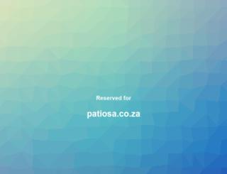 patiosa.co.za screenshot