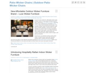 patiowickerchairs.com screenshot