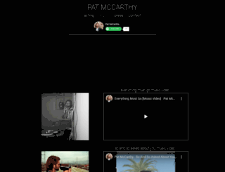 patmccarthymusic.com screenshot