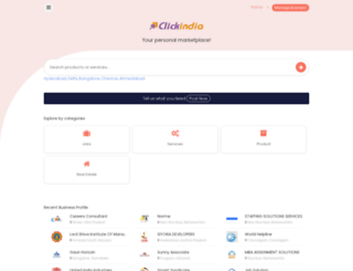 patna.clickindia.com screenshot