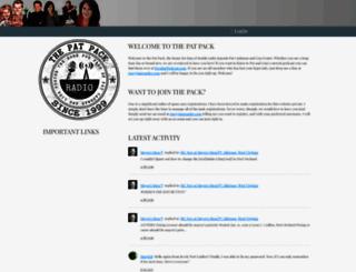 patpack.org screenshot