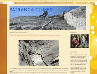 patrancaclimbs.blogspot.com screenshot