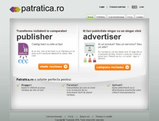 patratica.ro screenshot