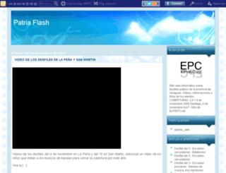 patriaflash-ept.blogcindario.com screenshot