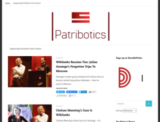 patribotics.wordpress.com screenshot