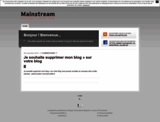 patricejulienecrivantditl.unblog.fr screenshot